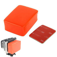 Float cushion + Waterproof Backdoor for GoPro HERO 3+/HERO4 Standard Housing - with 3M adhesive