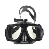 DIVE Mask | Diving & Snorkelling Mask for GoPro HERO cameras | Black or Blue