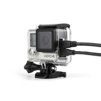 Skeleton Housing for GoPro HERO3/3+/4 | with open side for cable entry