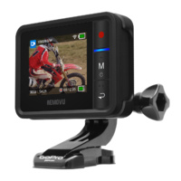 Removu R1+ and Cradle BUNDLE - Live View Waterproof Remote for GoPro HERO3/3+/4/4Session/5 Black