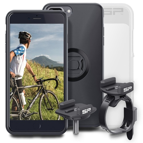 SP Connect Bike Bundle for SmartPhones (Phone case/Stem Mount/Clamp Mount) [Phone Model: iPhone 7+/6S+/6+]