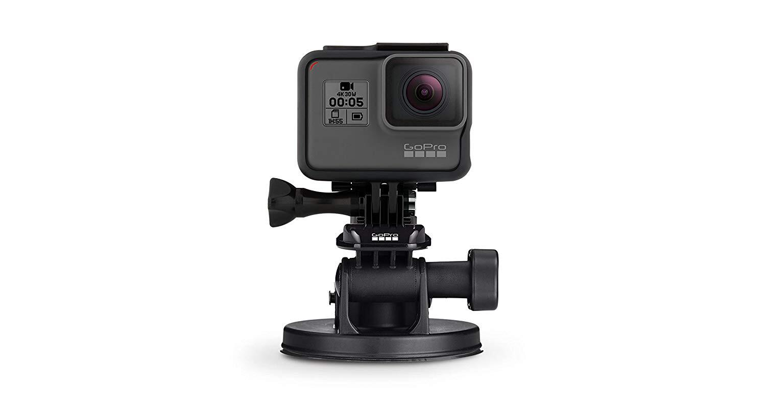 7669ccafda93d9 Genuine GoPro Suction Cup Mount | with Quik Release | HERO GEAR