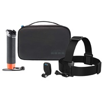 Genuine GoPro Adventure Kit 2.0 | The Handler + HeadStrap + QuickClip + Compact Case