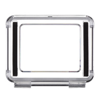 Skeleton BacPac Back Door | with open sides | Fits GoPro HERO3+/4 Standard housing