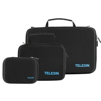 TELESIN Storage cases for GoPro Cameras and Accessories | Small, Medium or Large